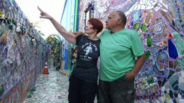 Mosaic house artists