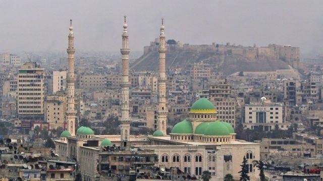 Aleppo, old city