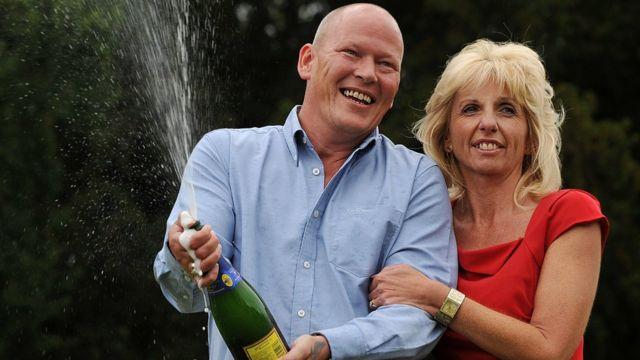 Angie y Dave en 2011.