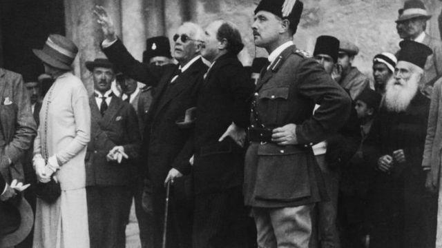 سفر لرد بالفور به بیتالمقدس، ۱۹۲۵ میلادی