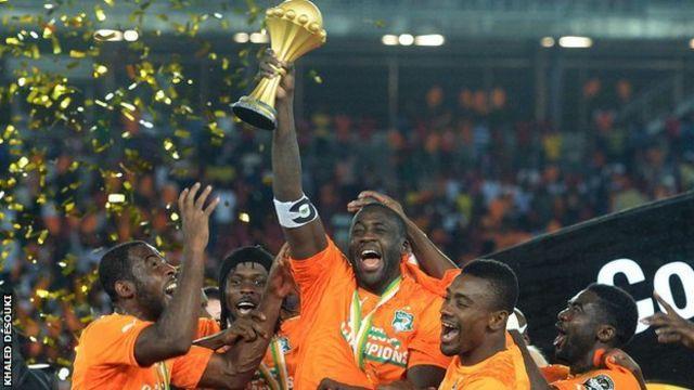 Ikipe ya Cote d'Ivoire ifite igikombe muri 2015