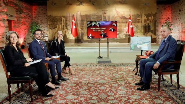 Erdoğan TRT özel yayını