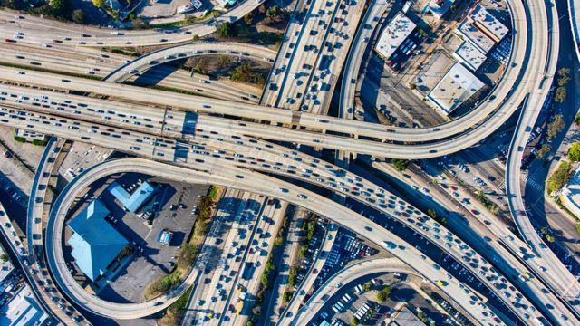 Autopistas en Los Ángeles
