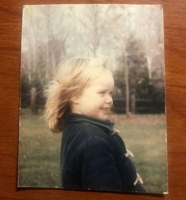Jenny aos 3 anos