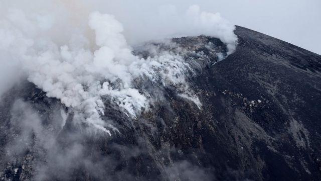 मेक्सिको का ज्वालामुखी