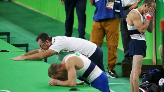 Equipo francés de gimnasia