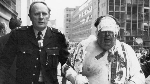 Herido en el atentado del Old Bailey de 1973