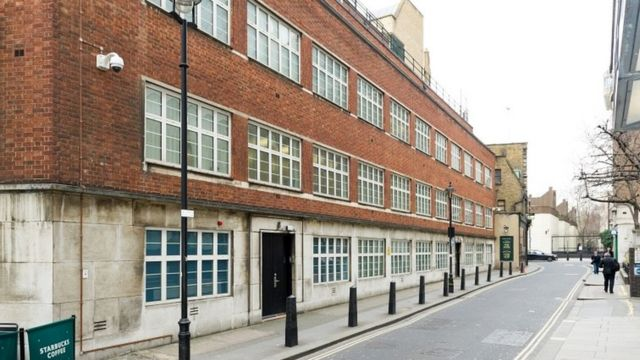 Drab London office block was GCHQ spy base
