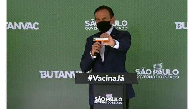 O governador Joao Dória