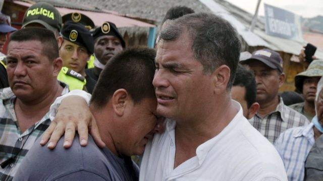 Ecuador quake: Millionaires to be taxed more to pay for relief