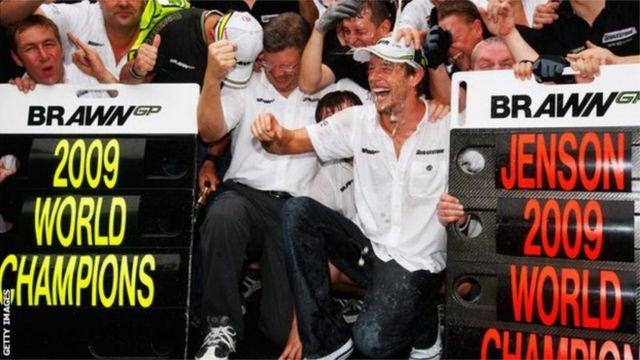 Jenson Button est monté à 50 reprises sur le podium.
