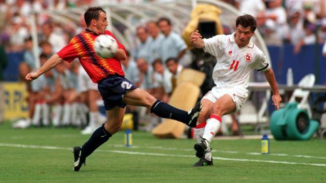 Le nouveau maillot espagnol pour la coupe du monde 2018 est inspiré de celui porté au Mondial 1994 aux Etats-Unis.