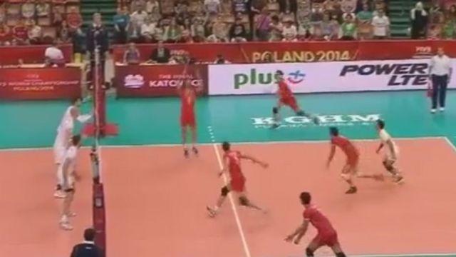 والیبال ایران فرانسه