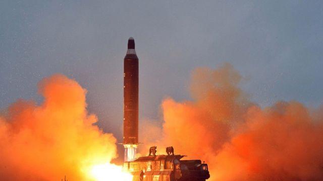 北朝鮮は、高高度迎撃ミサイルシステムの韓国への配置計画について、「物理的な対応を取る」としている