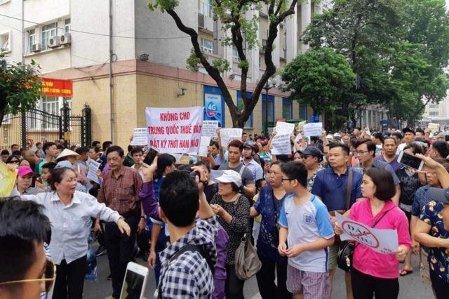 Hình chụp ở Hà Nội ngày 10/6/2018