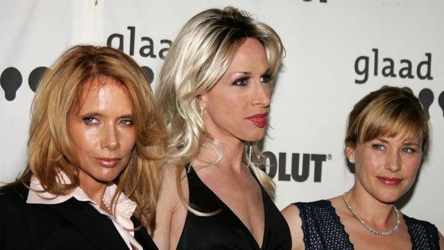 Patricia, Alexis y Rosanna Arquette.
