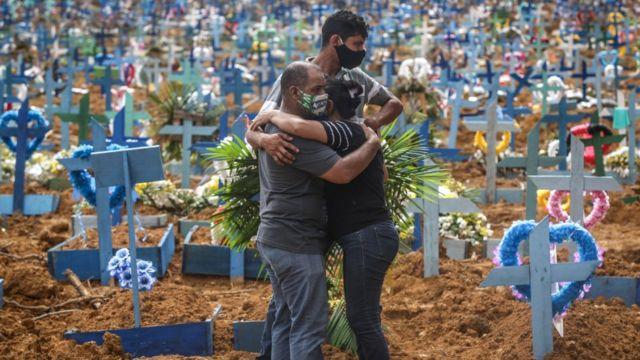 Cementerio en Manaos, Brasil.
