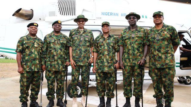 Buhari na ndị ọchịagha