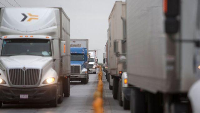 Camiones en America Latina