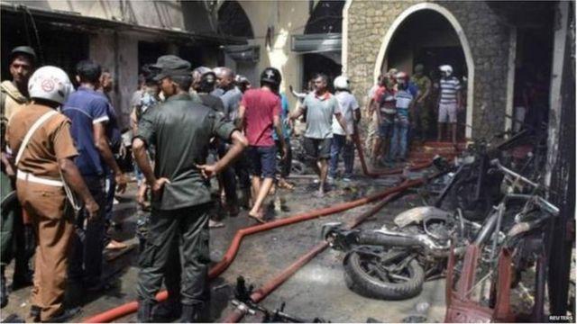 श्रीलंका स्फोट