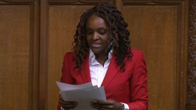 Fiona Onasanya: Disgraced MP makes Commons speech