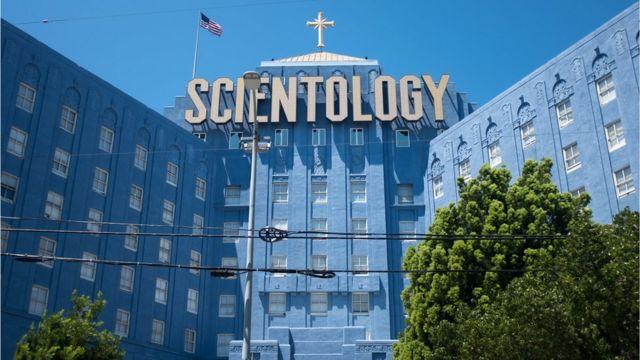Здание Церкви саентологии в Лос-Анджелесе