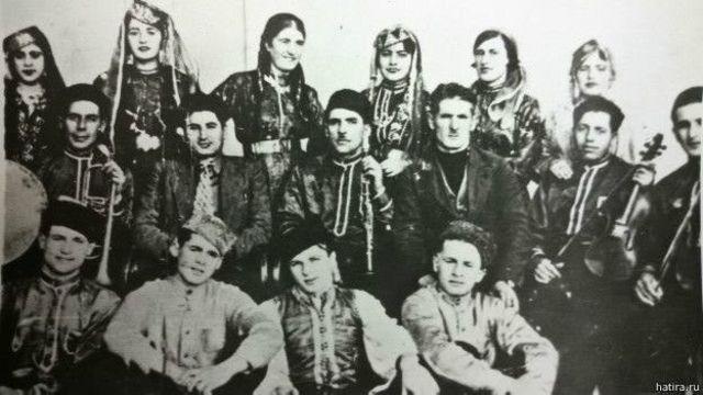 Kırımlı Tatarların bir müzik grubu (1935)