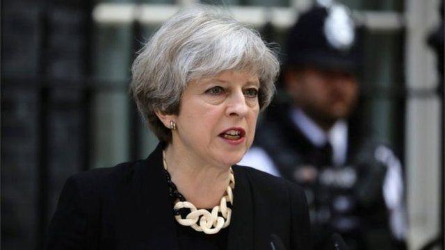 英国首相特雷莎·梅(又译 文翠珊)