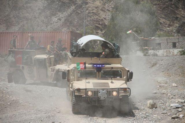Переброска афганских сил безопасности в Кандагар