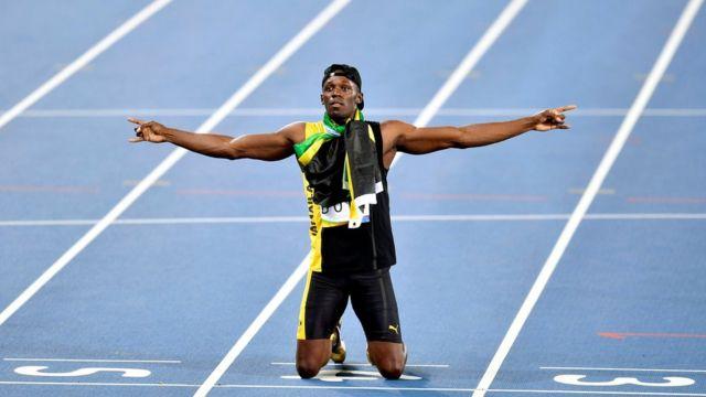 Bolt ganhou nove medalhas de ouro em Pequim (2008), Londres (2012) e Rio de Janeiro (2016)