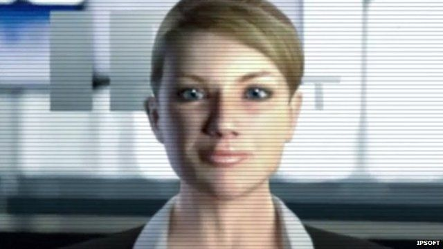 A computer generated photo of a woman which forms part of the Amelia artificial intelligence system