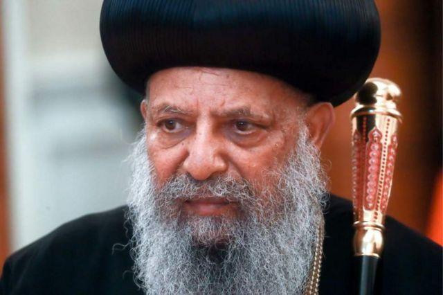 Abune Mathias i madaxa kaniisadda Orthodox ee dalka Itoobiya