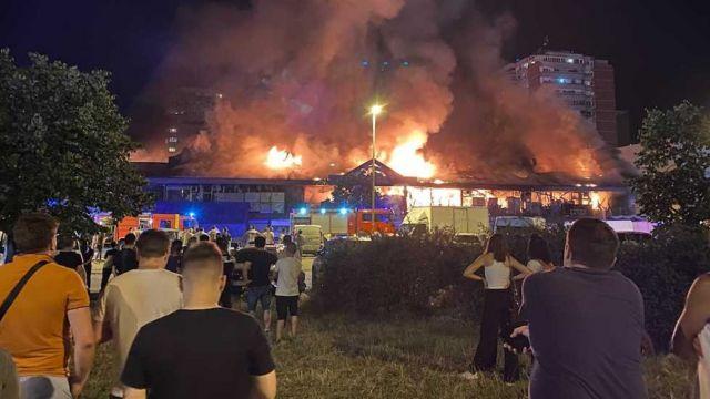 Požar u Bloku 70