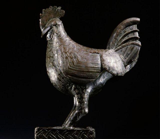 Bronze cockerel