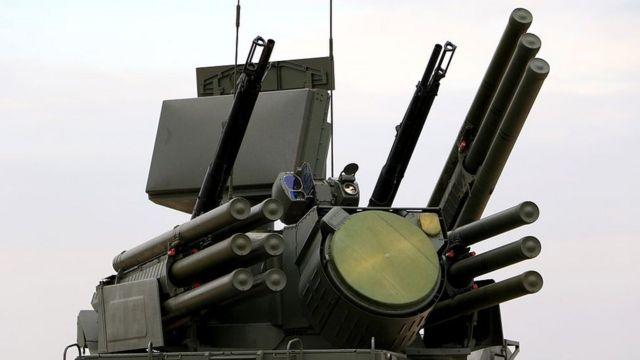 """Российская система ПВО """"Панцирь"""""""