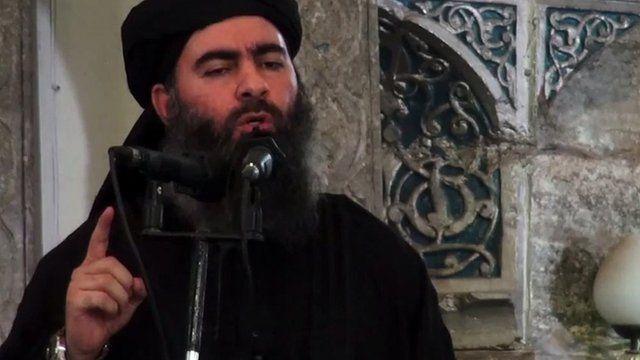 Abu Bakr al-Baghdad, líder do Isis