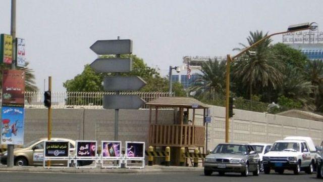 صورة أرشيفية للتفجير قرب القنصلية الأمريكية في جدة