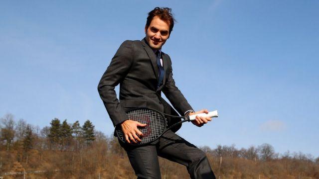 ٹینس کی مقبولیت میں اضافے اور عام لوگوں میں اس کھیل کی پہچان بنانے میں راجر فیڈرر کا بڑآ ہاتھ ہے