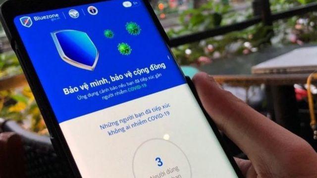 Người dùng Bluezone ở Việt Nam