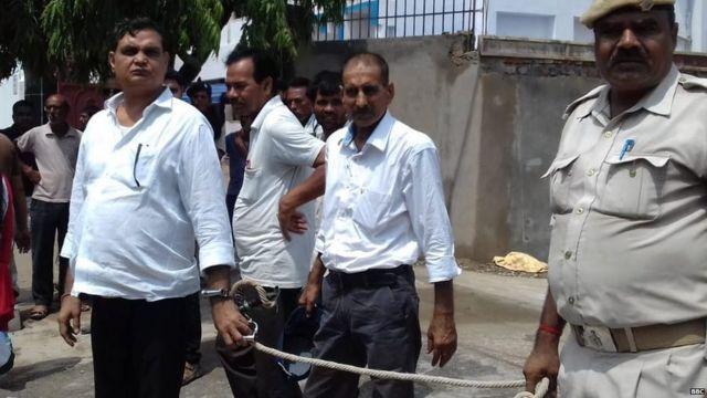 मुज़फ़्फ़रपुर शेल्टर होम कांड में गिरफ़्तार ब्रजेश ठाकुर