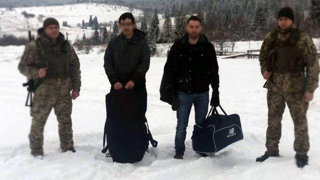 Громадяни Франції, затримані українськими прикордонниками