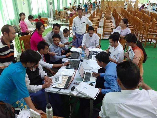 သုတေသနစာတမ်းစစ်ဆေးမှု အဖွဲ့