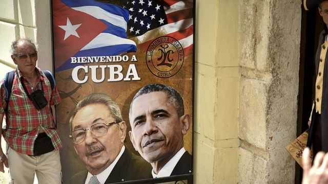 la visita de Barack Obama a La Habana.