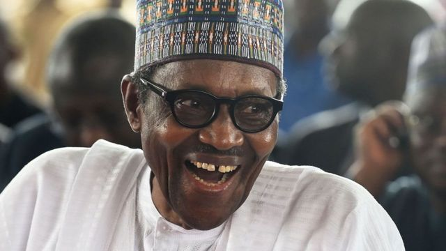 Rais wa Nigeria Muhammadou Buhari