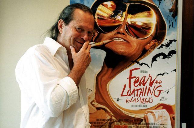 湯普森所著的《賭城風情畫》以及1998年由吉列姆(Terry Gilliam,上圖)執導的改編電影已成被奉為經典。