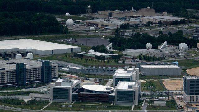 Sede del Cibercomando de EE.UU. en la Agencia Nacional de Seguridad, en Maryland.