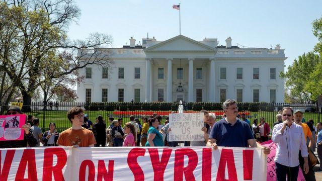 Протест у Белого дома