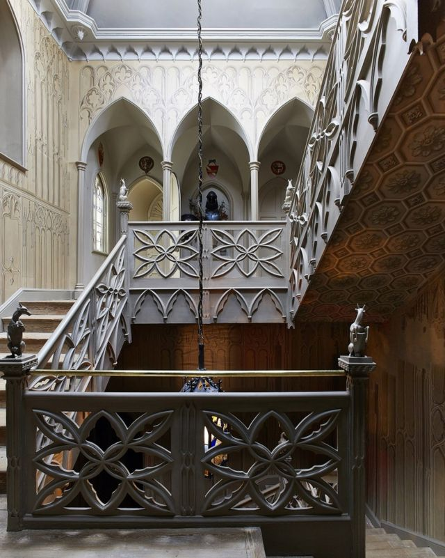 лестница в доме Уолпола