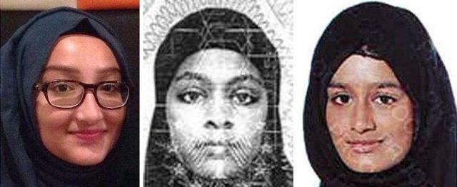 خدیجه سلطانه، امیره عباسه و شمیمه بیگم با هم از بریتانیا خارج شدند تا به داعش بپیوندند