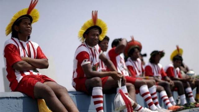 Brazil hosts first World Indigenous Games in Palmas